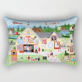 The Calico Cat Quilt Shop Rectangular Pillow