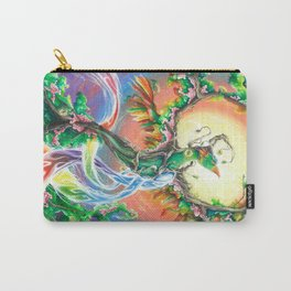 Wooden Bird of Paradise  Carry-All Pouch