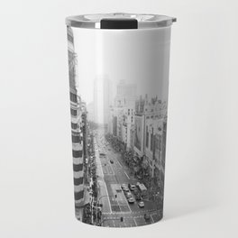 Gran Via in Madrid Travel Mug
