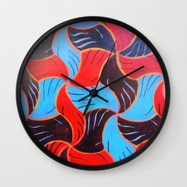 Buenos Aires Tessellation Wall Clock
