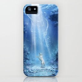 A wolf's tale iPhone Case