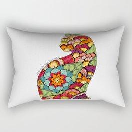 Keep calm and love cats Rectangular Pillow