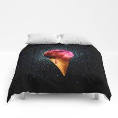 sweet side of the moon Comforters