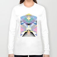origami Long Sleeve T-shirts featuring Origami by Marta Olga Klara