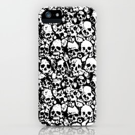 Skull Wall iPhone Case
