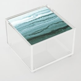 WITHIN THE TIDES - OCEAN TEAL Acrylic Box