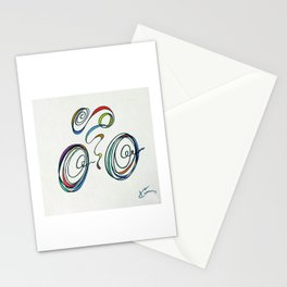 Bicycle - Zoomin' Through Stationery Cards