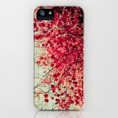 Autumn Inkblot iPhone (5, 5s) Slim Case