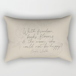 Freedom & Flowers Rectangular Pillow