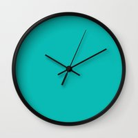 tiffany Wall Clocks featuring Tiffany Blue by List of colors