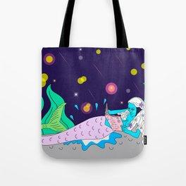 mermaid don´t kill please Tote Bag
