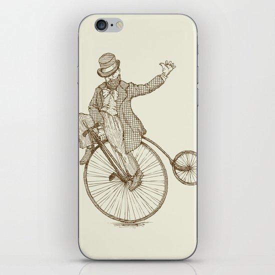 Flatland Penny Farthing iPhone & iPod Skin
