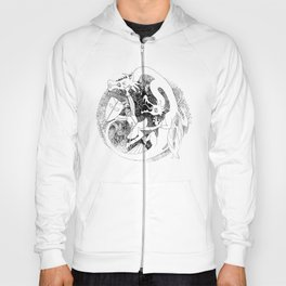 Dragons Hunter (round) Hoody
