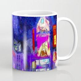 Times Square Van Gogh Coffee Mug