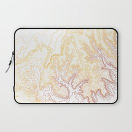 Contour Map of Bryce Canyon, Utah Laptop Sleeve