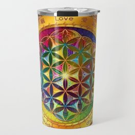 Life Mandala Travel Mug