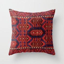 Baluch  Antique  Khorasan Persian Rug Throw Pillow