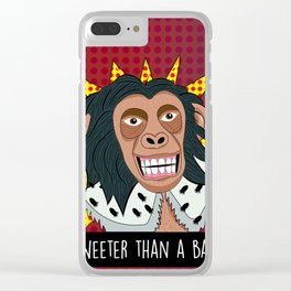 Sweeter than a banana Clear iPhone Case