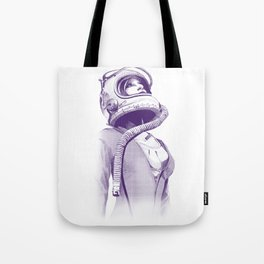 Space Woman Tote Bag