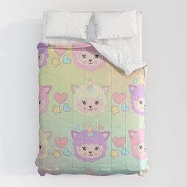 Llamacorn Colors Comforters