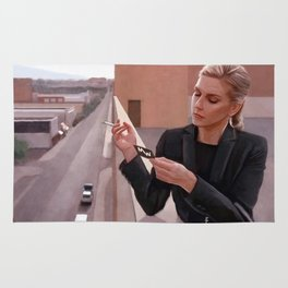 Kim Wexler On The Rooftop - Better Call Saul Rug