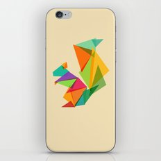 Fractal geometric Squirrel iPhone & iPod Skin