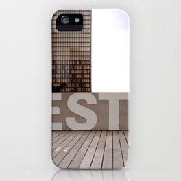 Paris EST Library iPhone Case