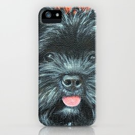 Terrier Painting - Koda iPhone Case