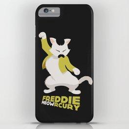 Freddie Meowrcury iPhone Case
