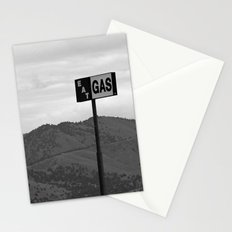 Eat Gas Stationery Cards