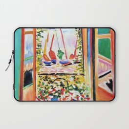 The Open Window Coastal - Floral and Maritime Collioure oil painting by Henri Matisse oil paint Laptop Sleeve