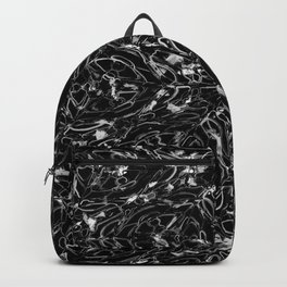 Black and white astral paint 5020 Backpack