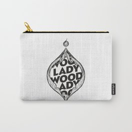 LADY WOOD Carry-All Pouch
