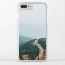Where the Road Goes Clear iPhone Case