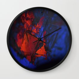 Raízanrha | Zoom In 2 | Bright, Intensive, Raw, Unfiltered Wall Clock