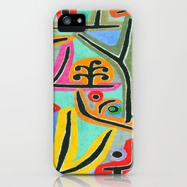 Paul Klee Park Near Lu iPhone Case