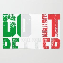 Italians Do It Better Rug