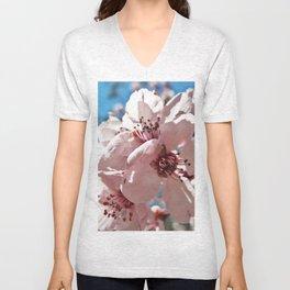 Sky Blossom Unisex V-Neck