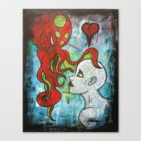 cthulu Canvas Prints featuring Call of Cthulu by Doom