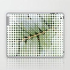 mesh white Laptop & iPad Skin