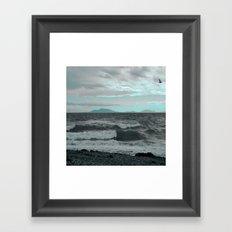 Rogue Waves Framed Art Print