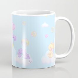 Bubbly Mice Sky Coffee Mug