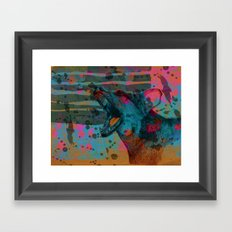 The Bark Framed Art Print
