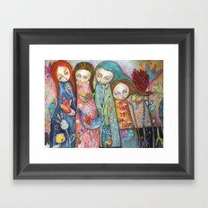 Wonderful Women Framed Art Print