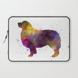 Australian Shepherd 01 in watercolor Laptop Sleeve