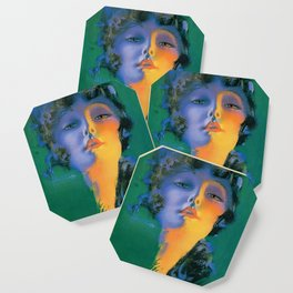"""""""Girl of My Dreams"""" Pinup by Rolf Armstrong Coaster"""