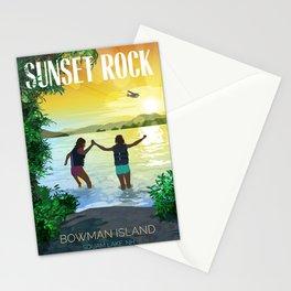 Sunset Rock Stationery Cards
