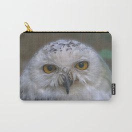 Snowy Owl, Schnee-Eule Carry-All Pouch