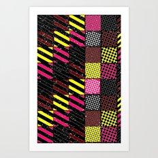 Crazier Pattern Art Print