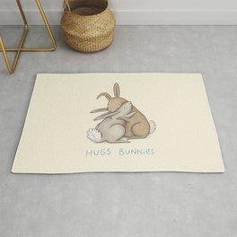 Hugs Bunnies Rug